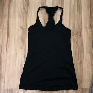 Black Lululemon cool racerback size 8
